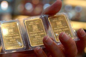 Vàng trong nước tăng trở lại