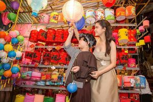 Trương Quỳnh Anh, Nhật Kim Anh vui đón Tết Trung thu bên con trai