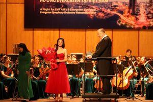Đông Nhi lần đầu hát chung với dàn nhạc giao hưởng đến từ Đài Loan