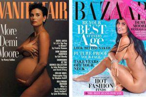 Sao 'Oan hồn' khỏa thân trên tạp chí sau 28 năm