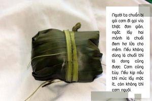 Những điều ít biết về gói cơm trong lễ gọi vía của người Thái Nghệ An