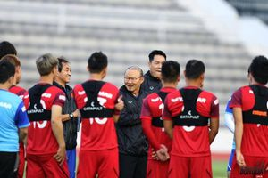 HLV Park Hang-seo chỉ có 3 ngày chuẩn bị cho tuyển Việt Nam gặp Malaysia ở VL World Cup