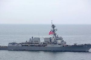 Tàu khu trục Mỹ tiến vào quần đảo Hoàng Sa ở Biển Đông