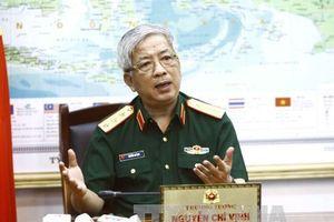 Thứ trưởng Bộ Quốc phòng Nguyễn Chí Vịnh tiếp Đại sứ Ấn Độ