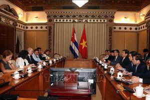 TP Hồ Chí Minh đẩy mạnh hợp tác đầu tư với Cuba