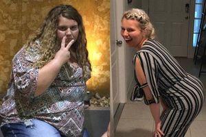 Cô gái người Mỹ giảm được 88kg nhờ nỗ lực làm những điều mà không phải ai cũng dám thử