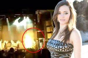 Nữ ca sĩ 30 tuổi thiệt mạng vì bị pháo hoa bắn trúng
