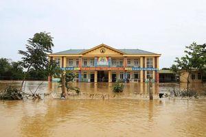 100% trường học nơi 'rốn lũ' Hương Khê, Hà Tĩnh đã mở cửa đón học sinh