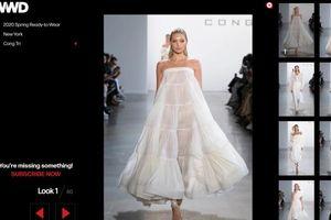 BST của Công Trí vào danh sách những thiết kế đẹp nổi bật của NYFW 2020, được Vogue, ,Harper Bazaar Mỹ vinh danh