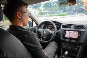 Thử 3 trang bị mới, hỗ trợ người lái trên Volkswagen Tiguan Allspace Luxury