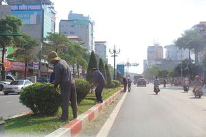 Thành phố Thái Nguyên: Đường phố sạch đẹp sau cơn 'đại hồng thủy'