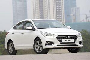Phân khúc xe hạng B tháng 8/2019: Hyundai Accent 'rượt đuổi' Toyota Vios