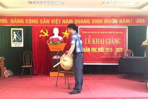 Trung tâm giáo dục dạy nghề người mù Thanh Hóa khai giảng năm học mới