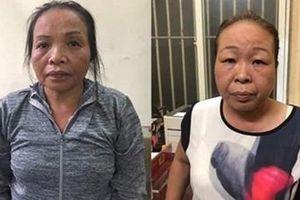 Bắt 2 nữ đạo chích trộm ví tiền tại bến xe buýt chợ Hàng Da