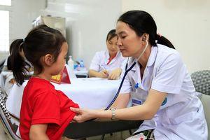 Vụ cháy nhà máy Rạng Đông: Khám sức khỏe miễn phí cho 300 trẻ mầm non
