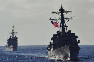 Mỹ đưa tàu khu trục tới Biển Đông giữa căng thẳng