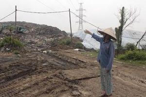 Cần đẩy nhanh tiến độ di dời bãi rác xa khu dân cư