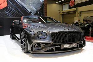 Ngắm siêu phẩm Bentley Continental GTC mui trần full Carbon