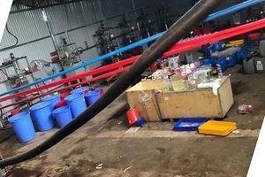 Khởi tố nhóm đối tượng Trung Quốc trong đường dây sản xuất ma túy siêu 'khủng'