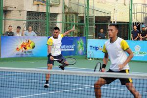 Lê Quốc Khánh/Phạm Minh Tuấn vô địch đôi nam quần vợt VTF Masters Hải Phòng