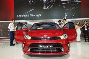 Trường Hải tung Kia Soluto, cạnh tranh Toyota Vios ở Việt Nam