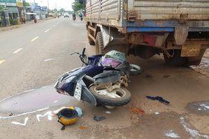 Bình Phước: Một phụ nữ thiệt mạng sau khi đâm vào đuôi xe tải