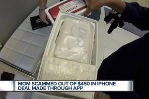 Bỏ tiền mua iPhone trên mạng, cay đắng nhận được cục xà bông