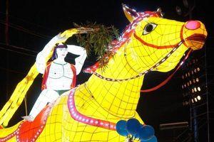 Đẹp ngỡ ngàng với đêm trung thu tại Tuyên Quang