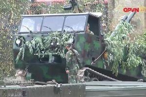Việt Nam đưa pháo phản lực phóng loạt lên xe bánh xích M548?