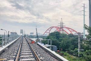 Cầu đường sắt Bình Lợi mới chính thức hoạt động sau 4 năm thi công