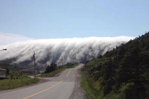 Clip: Sương mù cuồn cuộn như dòng thác kỳ vĩ tự nhiên