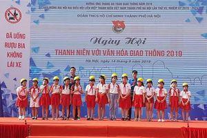 Ngày hội 'Thanh niên với văn hóa giao thông' 2019 ở Hà Nội