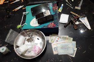 Bắt quả tang đối tượng tàng trữ hơn 500 gam ma túy