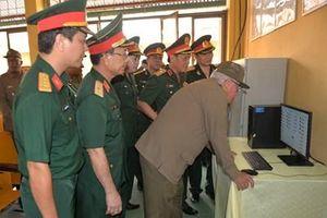 Đoàn cán bộ cấp cao Bộ các Lực lượng vũ trang Cách mạng Cu Ba thăm Lữ đoàn 147 Hải quân