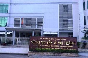 Kỷ luật Giám đốc Sở TN-MT tỉnh An Giang