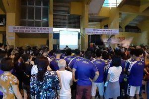 Nhận án phạt 'treo sân', CĐV CLB Hà Nội gây bất ngờ vì lý do này
