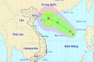 Xuất hiện áp thấp giữa Biển Đông: Từ Bình Thuận đến Cà Mau biển động mạnh