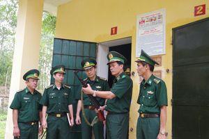 Kiểm tra toàn diện công tác biên phòng tại Đồn Biên phòng Cửa khẩu quốc tế La Lay