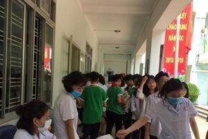 Khám sàng lọc sau vụ cháy Rạng Đông: 21 học sinh chuyển viện khám chuyên sâu