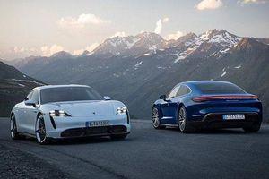 Chi tiết xe điện Porsche Taycan, đối thủ của Tesla Model S