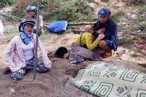 Tìm thấy thi thể người bố và cháu bé trong vụ vợ chồng trẻ ôm con nhỏ 15 tháng tuổi nhảy sông Thạch Hãn tự tử