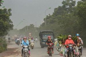 Chỉ số không khí ở thủ đô Hà Nội ô nhiễm nghiêm trọng