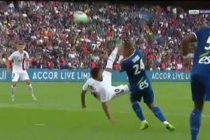 Neymar tung cú 'xe đạp chổng ngược' giải cứu PSG ngoạn mục