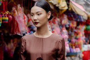 Những thiết kế lụa đậm chất Hà thành cho mùa thu của NTK Hà Linh Thư