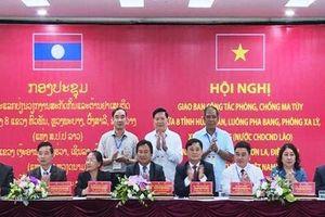 Tám tỉnh Việt - Lào phối hợp công tác phòng, chống ma túy