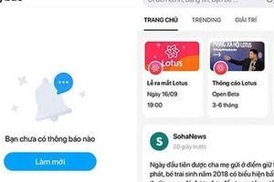 Mạng xã hội Lotus - nội dung làm nền tảng