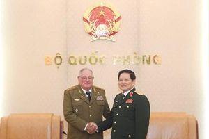 Tổng Tham mưu trưởng các Lực lượng vũ trang cách mạng Cuba thăm chính thức Việt Nam