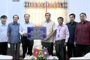 Quảng Nam hỗ trợ tỉnh Sê Kông và Chămpasak khắc phục thiệt hại do lũ lụt