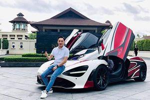 Cường Đô la cầm lái McLaren 720S hơn 20 tỷ trên đất Thái