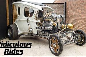 Automatron - Chiếc xe ôtô cực độc của 'công chúa lọ lem'